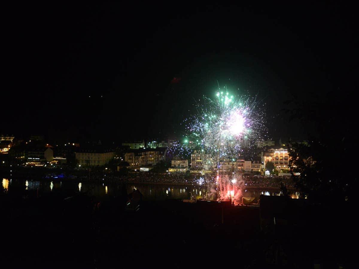 Vuurwerk in Cochem