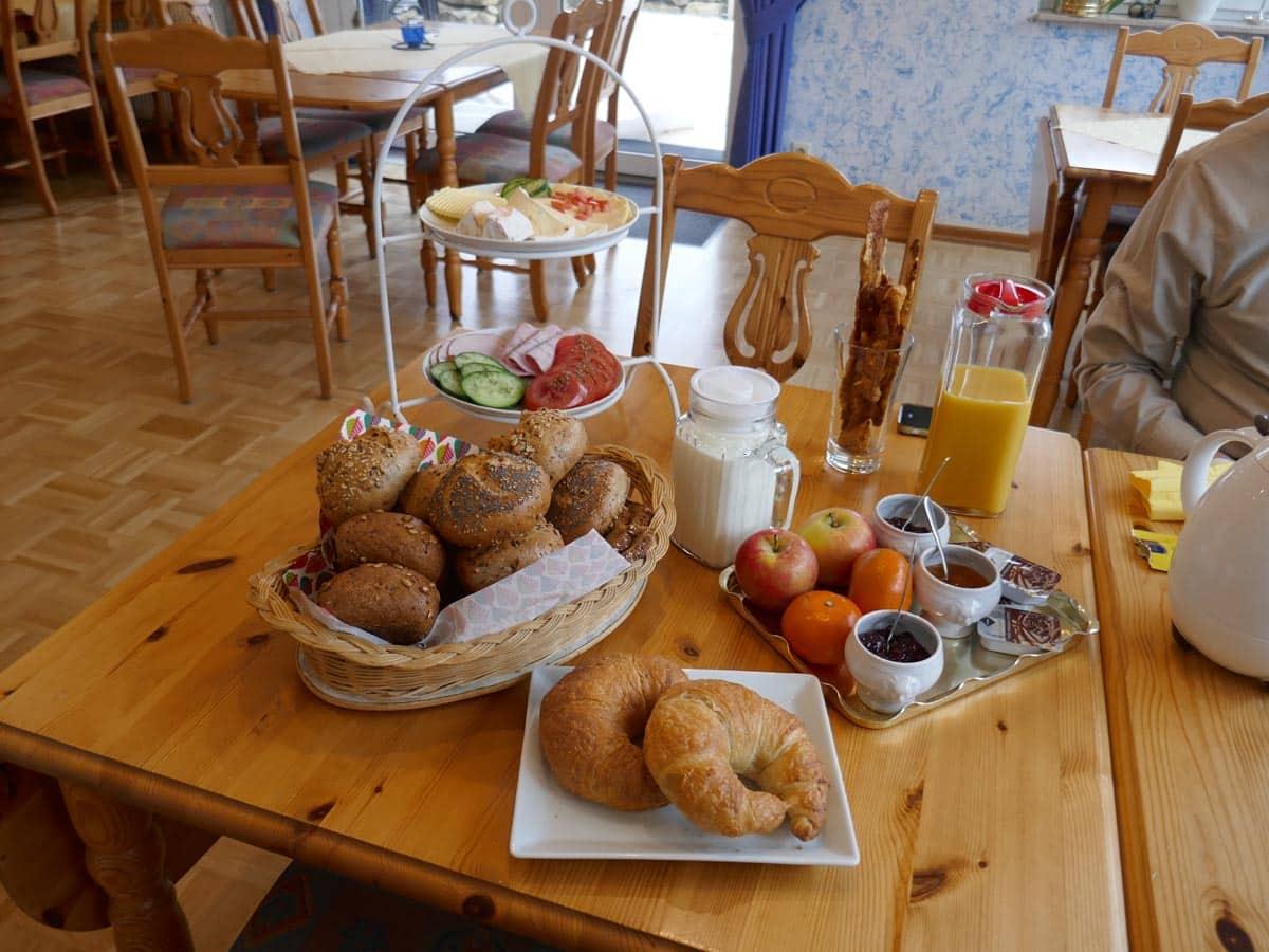 Frühstück in der Villa Tummelchen